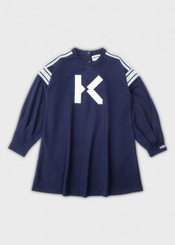 Синее платье Kenzo для девочек, фото