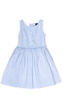 Платье с ромашками Polo Ralph Lauren на пуговицах, фото
