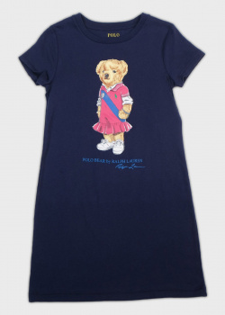 Платье с медведем Polo Ralph Lauren для девочек, фото