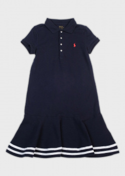 Детское платье Polo Ralph Lauren с коротким рукавом, фото