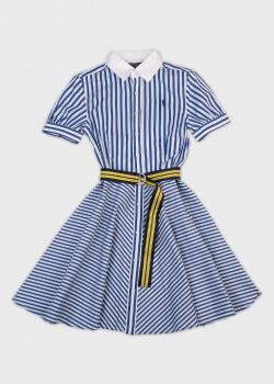 Детское платье Polo Ralph Lauren в полоску, фото