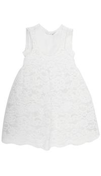 Платье из кружева Twin-Set с бантом, фото