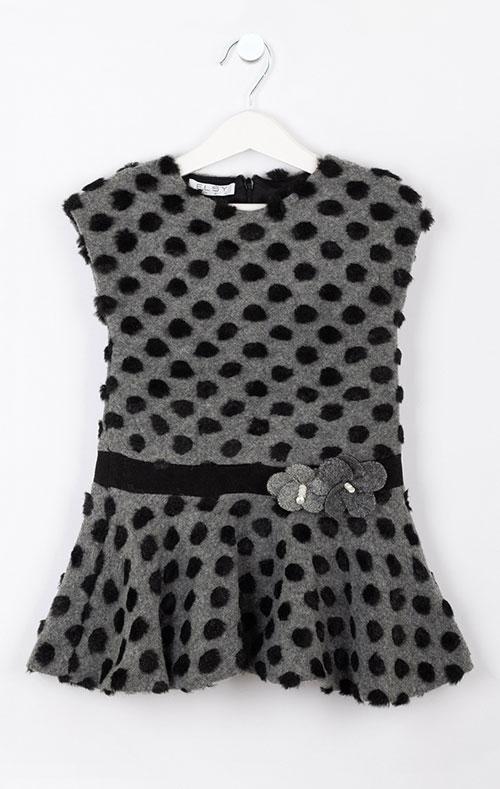 Платье для девочки Elsy в горошек, фото
