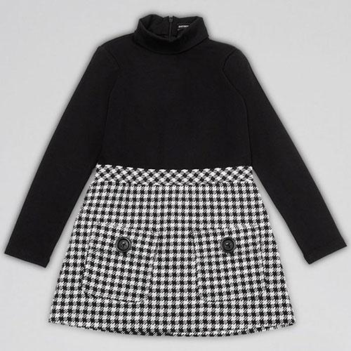 Детское платье Emporio Armani с накладными карманами, фото