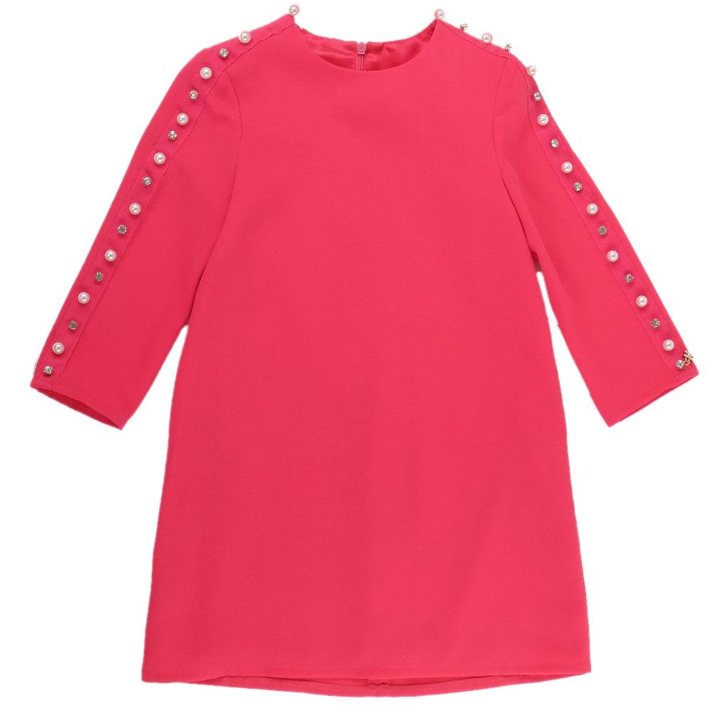 Детское платье Elisabetta Franchi в розовом цвете