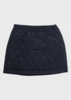 Стеганая юбка Emporio Armani для девочек, фото