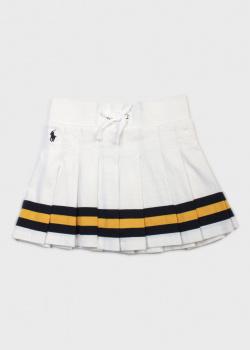 Плиссированная юбка Polo Ralph Lauren для девочек, фото