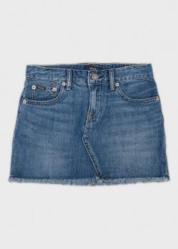 Джинсовая юбка Polo Ralph Lauren для девочек, фото