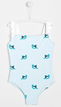 Голубой купальник Jacadi для девочек, фото