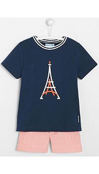 Пижама для мальчиков Jacadi с принтом, фото