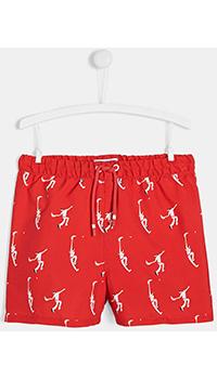 Красные шорты-плавки Jacadi для мальчиков, фото