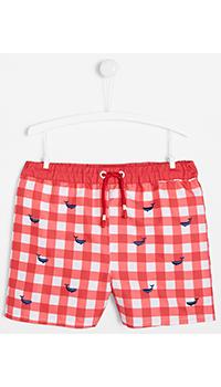 Плавательные шорты Jacadi в клетку для мальчиков, фото