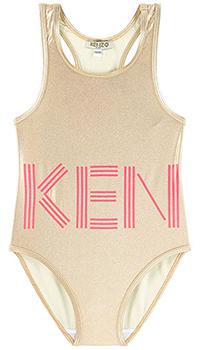 Детский купальник Kenzo золотистого цвета, фото