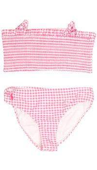 Розовый купальник Polo Ralph Lauren в клеточку, фото