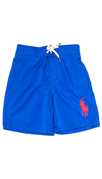 Ярко-синие плавательные шорты Polo Ralph Lauren, фото