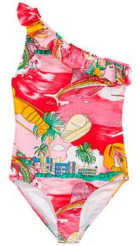 Детский купальник Polo Ralph Lauren с ярким принтом, фото