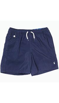 Шорты-плавки Polo Ralph Lauren синего цвета, фото