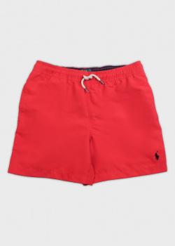 Детские пляжные шорты Polo Ralph Lauren с лого, фото