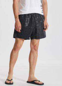 Черные шорты Emporio Armani для плавания, фото