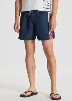 Пляжные шорты Emporio Armani с контрастной полосой, фото
