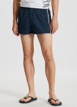 Пляжные шорты Emporio Armani с лампасами, фото