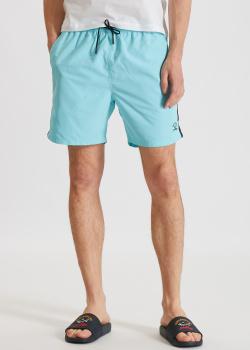 Пляжные шорты Paul&Shark голубого цвета, фото