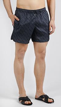 Пляжные шорты Emporio Armani с принтом, фото