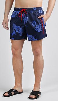 Плавки-боксеры Emporio Armani с цветочным принтом, фото