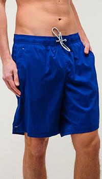 Плавательные шорты Bogner темно-синего цвета, фото