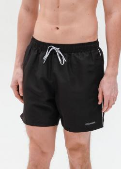 Пляжные шорты Calvin Klein черного цвета, фото