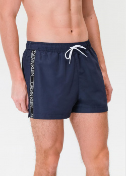 Плавательные шорты Calvin Klein с лампасами, фото