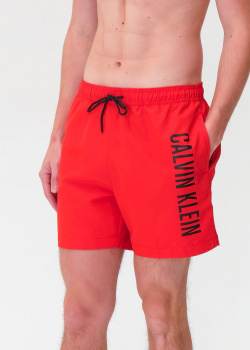 Красные шорты Calvin Klein для плаванья, фото