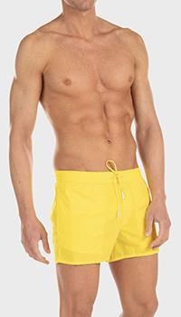 Шорты для плавания Dsquared2 Capri желтого цвета, фото