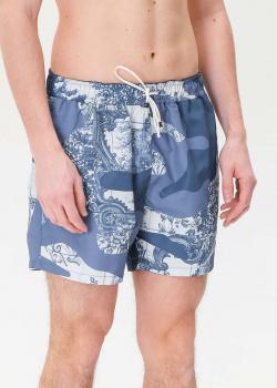 Пляжные шорты Hugo Boss с карманами, фото