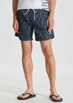 Плавательные шорты Karl Lagerfeld с рисунком, фото