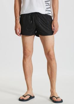 Пляжные шорты Karl Lagerfeld с фирменным принтом, фото