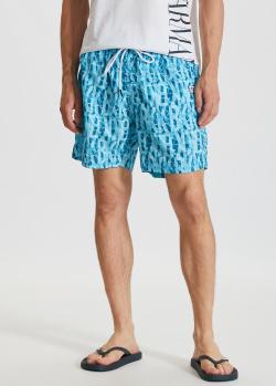 Плавательные шорты Bikkembergs голубого цвета, фото