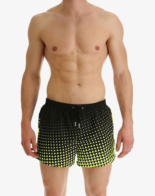 Пляжные шорты Dsquared2 с геометрическим принтом, фото