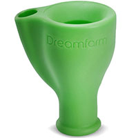 Зеленая насадка на кран Dreamfarm Tapi, фото