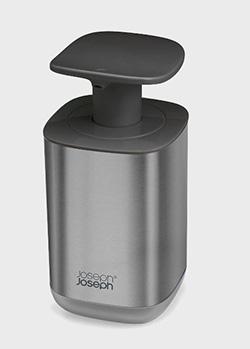 Дозатор для мыла Joseph Joseph Presto Hygienic из нержавеющий стали, фото