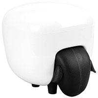 Контейнер для хранения Qualy Sheepshape Cotton Box черно-белый, фото