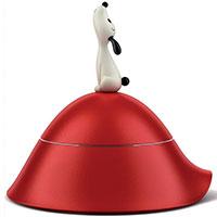 Миска для собак Alessi Lula с крышкой, фото