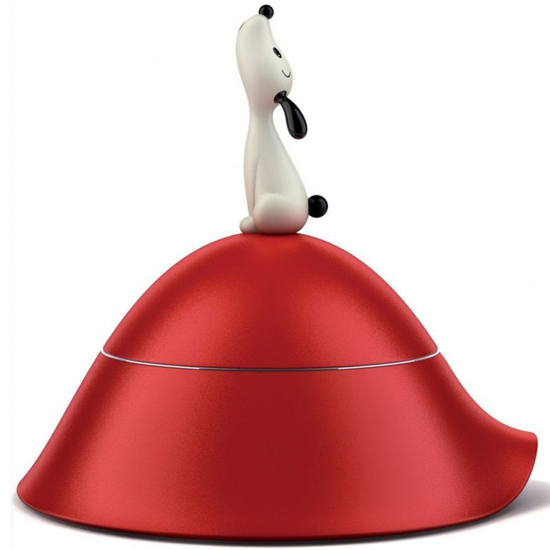 Миска для собак Alessi Lula с крышкой