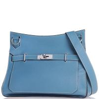 Сумка Hermes Pre-owned Jypsiere 28 Clemence Blue, фото