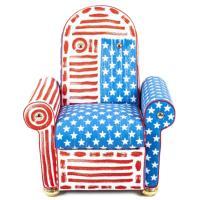 Кресло Seletti Lazy Chair с принтом, фото