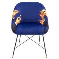 Кресло Seletti Toiletpaper с необычным принтом, фото