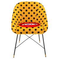 Кресло Seletti Toiletpaper с принтом губ, фото