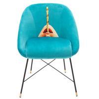 Кресло Seletti Toiletpaper бирюзового цвета, фото