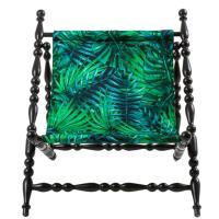 Кресло Seletti Heritage с принтом растений, фото