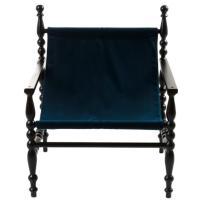 Кресло Seletti Heritage синего цвета, фото